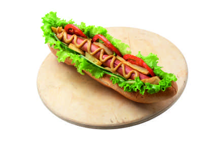 Mega hot dog